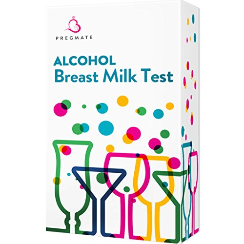 PREGMATE 25 Alcohol Breastmilk Test Strips Breastfeeding Breast Milk Test (25 Pack) by PREGMATE (Image #7)
