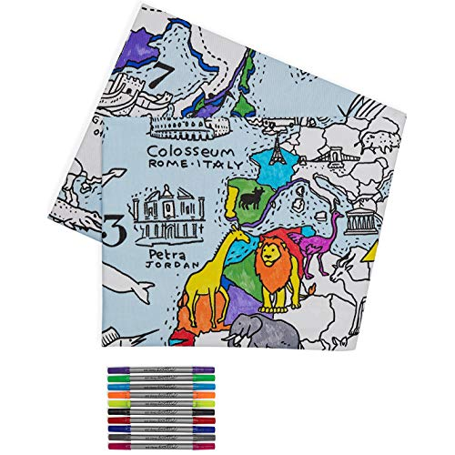 Download 9 Best Coloring Tablecloth For Kids And Adults Washable
