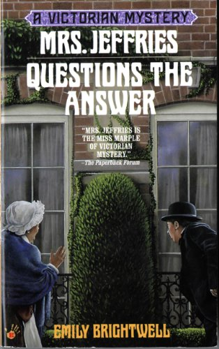book cover of Mrs Jeffries Questions the Answer