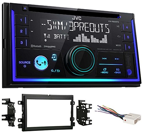 JVC Stereo CD Receiver w/Bluetooth/USB/iPhone/Sirius for 2004-2006 Ford F-150