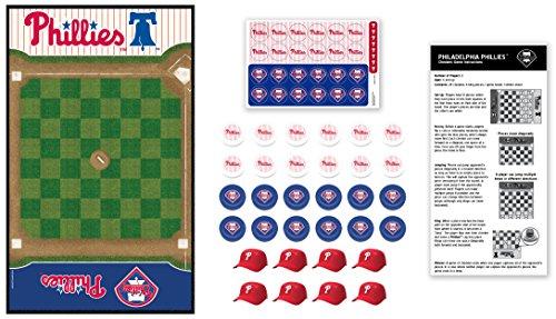 (MasterPieces MLB Philadelphia Phillies Checkers Board Game)