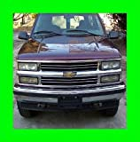 93 chevy front grill - 1991-2000 CHEVROLET SILVERADO CHROME GRILL GRILLE KIT CHEVY 1992 1993 1994 1995 1996 1997 1998 1999 91 92 93 94 95 96 97 98 99 00 1500 2500 3500 Z71 LS LT