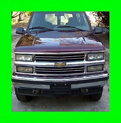 Amazon Com 312 Motoring Fits 1991 2000 Chevrolet Silverado Chrome