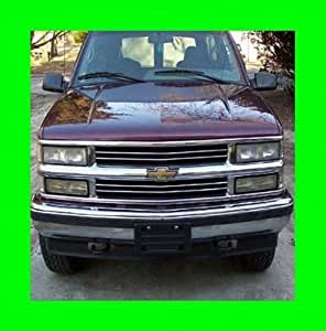 1991-2000 CHEVROLET SILVERADO CHROME GRILL GRILLE KIT CHEVY 1992 1993 1994 1995 1996 1997 1998 1999 91 92 93 94 95 96 97 98 99 00 1500 2500 3500 Z71 LS LT