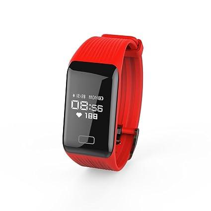 lclrute Mode Alta Calidad Y1 Fitness Tensiómetro Pulsómetro De Oxígeno Smart Watch banda de pulsera,