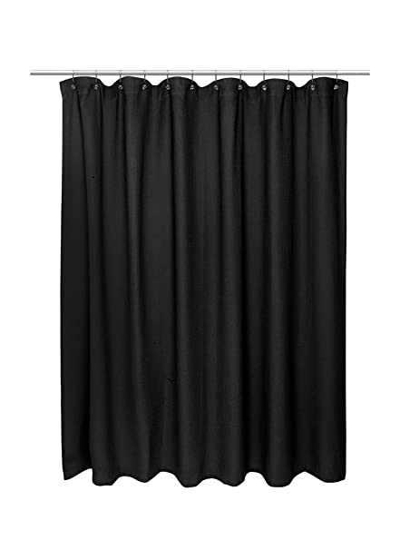 American Crafts Waffle Weave 100 Cotton Shower Curtain