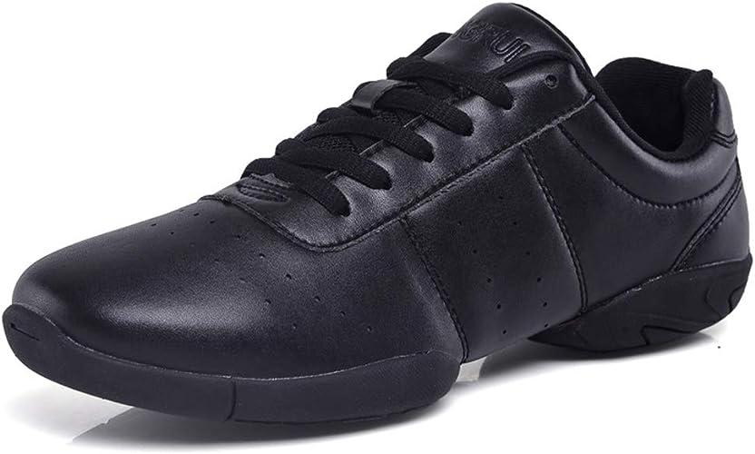 DADAWEN Damen Cheer Schuhe Mädchen Sneaker Outdoor Fitness