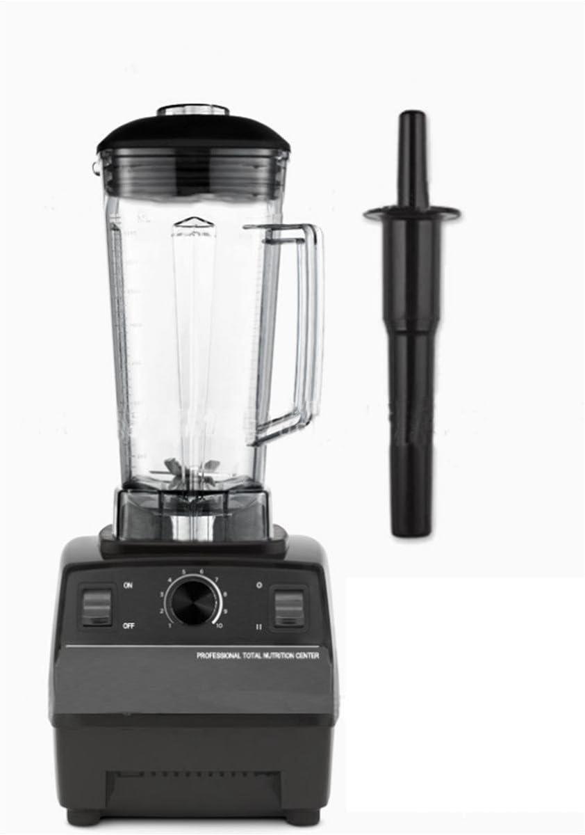 2L de presupuesto multifunción, batidora licuadora, Robot de cocina, picadora de carne. Hielo Eléctrica, 2200 W, color negro: Amazon.es