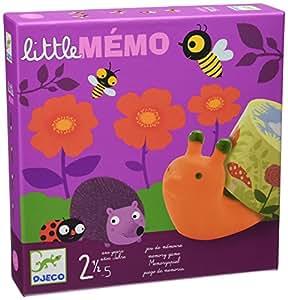 Djeco DJ08552 Little Memo - Juego de memoria (en francés)