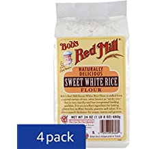 Bob's Red Mill Sweet White Rice Flour, 24-ounce (Pack of 4)
