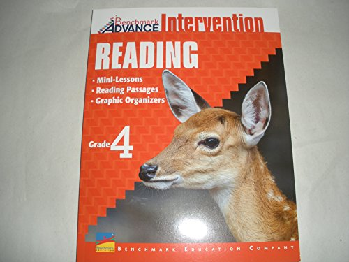 Benchmark Advance Intervention Reading - Mini-Lessons, Reading Passages, Graphic Organizers (Grade 4)