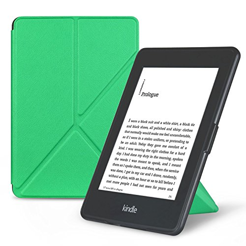 OMOTON Smart Case Cover -- Origami Stand Folio Style PU Leather Smart Cover for your All-New PPW E-book Device...