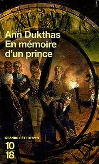 En mémoire d'un prince par Paul  C. Doherty