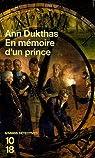 En mémoire d'un prince par Doherty
