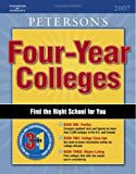 Four Year Colleges 2007, Guide To, Thomson Peterson's Staff and Peterson's, 0768921538