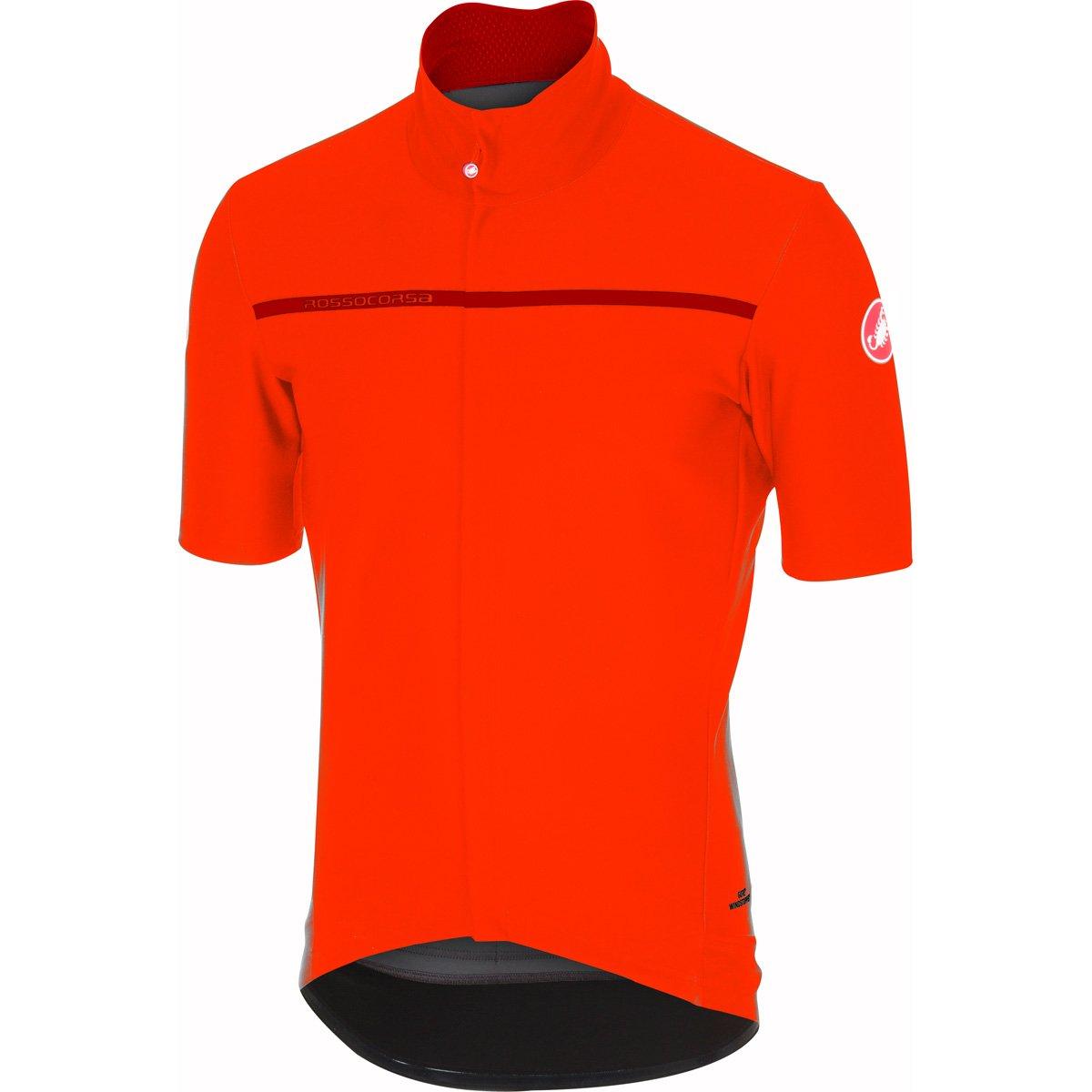 CastelliメンズGabba 3半袖サイクリングjacketb17084 B075ZMZZ33 Medium|オレンジ オレンジ Medium