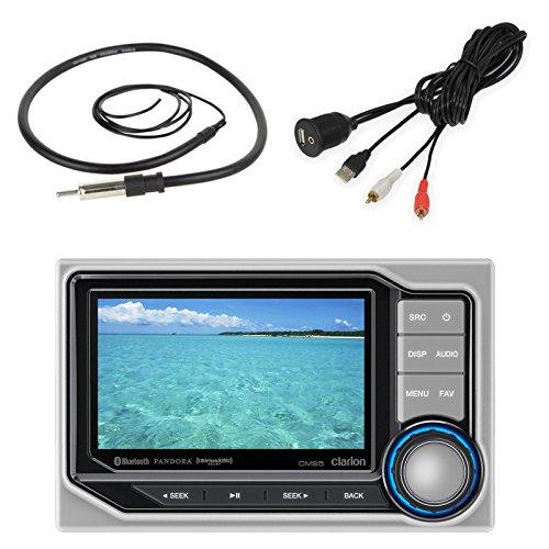 Digital Media Hideaway Bluetooth Receiver, USB AUX Interface, AM/FM Antenna ()