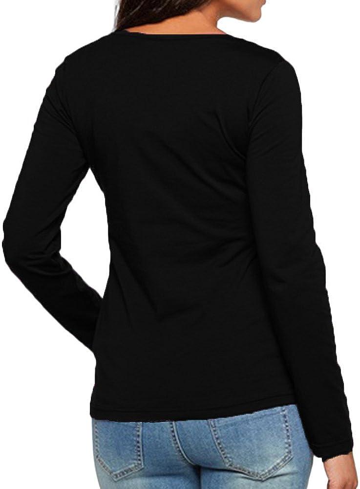 Topgrowth Maglia Allattamento Maglietta Premaman Maniche Lunghe Felpa Donna Allattamento Incinta Assistenza Infermieristica T-Shirt