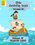 Pirates book |Kids Activity Book | 5-9 years old