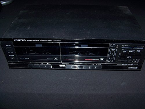 (Kenwood KX-57CW Stereo Dual Cassette Deck Player Recorder)