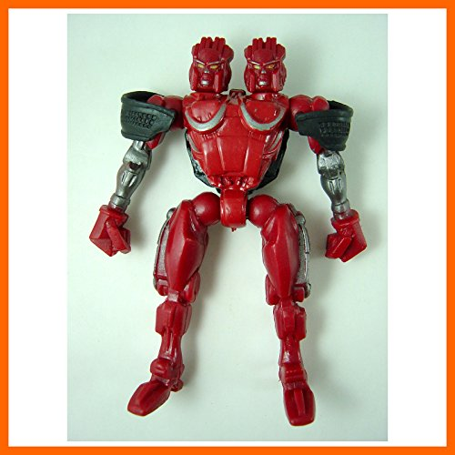 """NEWEST Real Steel Action 5"""" figures ( Twin Cities ) Midas Zeus Noisy Boy Atom"""