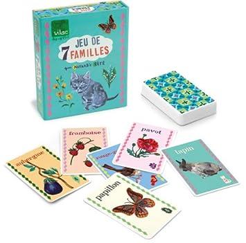 Vilac 8634 Nathalie Lété 7 familias - Juego de mesa con ...