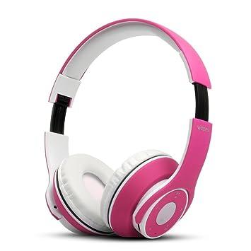 UGI® Auricular Bluetooth V4.0 Plegable Control táctil Oído Auricular inalámbrico con micrófono Orejeras