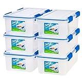 Ziploc WeatherShield 26.5 Quart Storage Box, Clear
