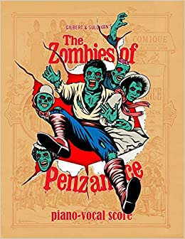 the zombies of penzance piano vocal score
