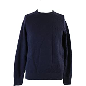 64f1c3d9d7926 Ralph Lauren Polo Mens Merino Wool Angora Crewneck Ribbed Sweater ...