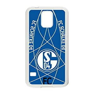 FC Schalke 04 Brand New And Custom Hard Case Cover Protector For Samsung Galaxy S5
