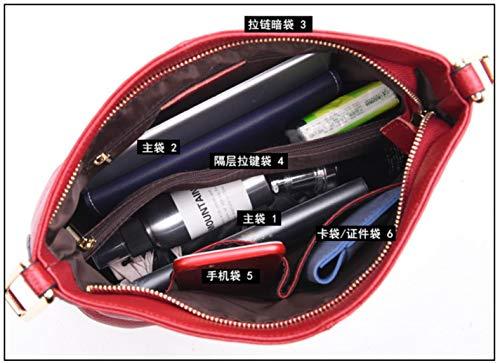 handbags Women Soft Pocket Genuine Hot New Leather Black Hobos 0WBq4S4xwn