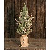 Heart of America Snowy Glitter Pine Tree In Gift Bag 18''