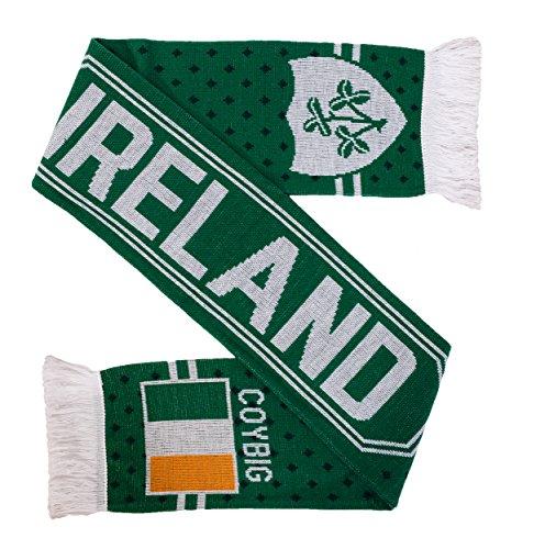 - Ireland Soccer Rugby Knit Scarf (COYBIG)
