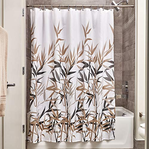 ric Shower Curtain Water-Repellent and Mold- and Mildew-Resistant for Master, Guest, Kids', College Dorm Bathroom, 72