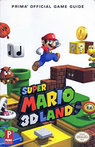 Prima Official Game Guide: Super Mario 3D Land (Super Mario 3 Strategy Guide compare prices)