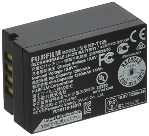 Fujifilm NP-T125 Rechargeable Lithium-Ion Battery GFX 50S Di