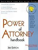 The Power of Attorney Handbook, Edward A. Haman, 1570713480