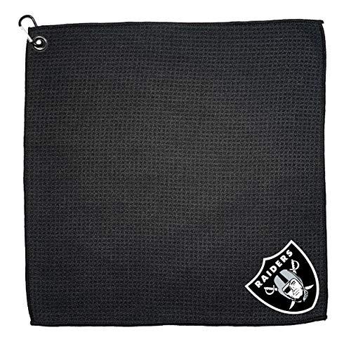 Team Golf NFL Las Vegas Raiders 15x15 Golf Towel