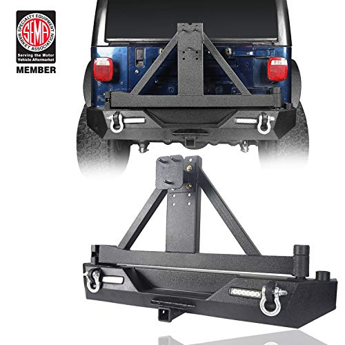 jeep bumpers tj rear - 3