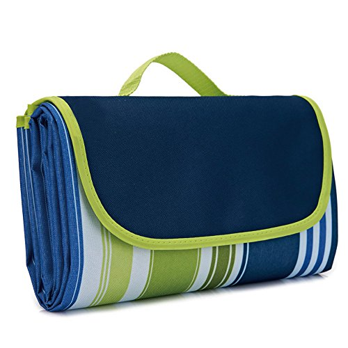"""Tamengi Large Waterproof Picnic Blanket Sandproof Outdoor Blanket Mat for Camping Hiking Grass Travelling 79"""" x 57"""""""