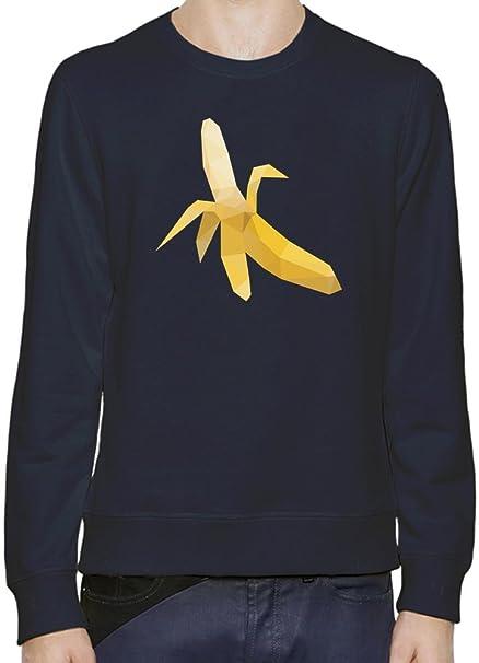 Origami Banana Sudadera Hombres Mujeres XX-Large: Amazon.es: Ropa y accesorios