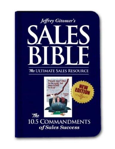 Download Sales Bibles (08) by Gitomer, Jeffrey [Hardcover (2008)] pdf
