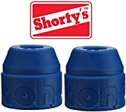 Shorty's Blue Doh-Doh Bushings 88a soft (2 sets) For Skateboards & Lo