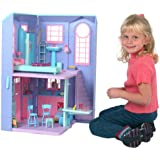 Barbie TALKING TOWNHOUSE Playset TOWN HOUSE w LIGHTS, SOUNDS & More! (2002)