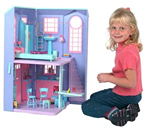 barbie house games talking townhouse playset town house w 10079