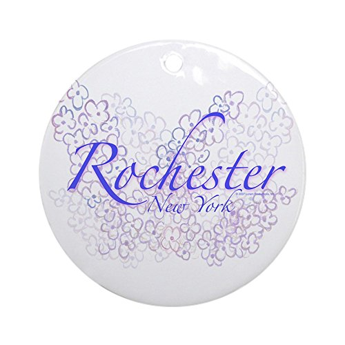 CafePress Rochester Lilacs Ornament (Round) Round Holiday Christmas Ornament