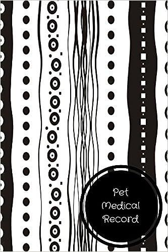 amazon com pet medical record pet log book 9781521016015