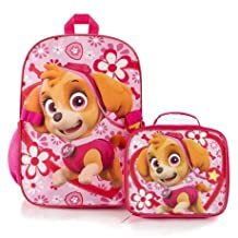 Paw Patrol- Skye 16 inch Backpack with Lunch Bag Kit