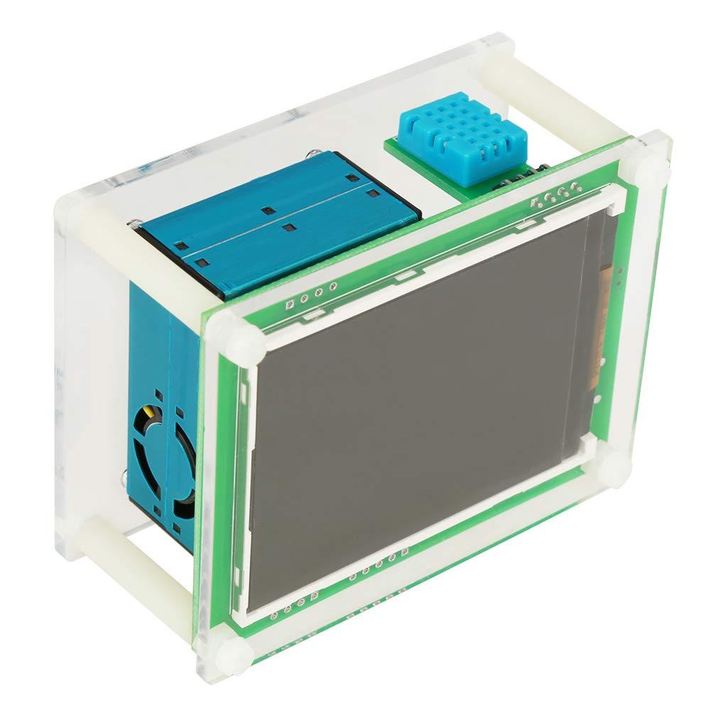 Moniteur PM2.5 2,8 pouces num/érique de voiture PM2.5 D/étecteur de qualit/é de lair Testeur de compteur AQI Home Car Air Monitor Excellente performance haut d/ébit